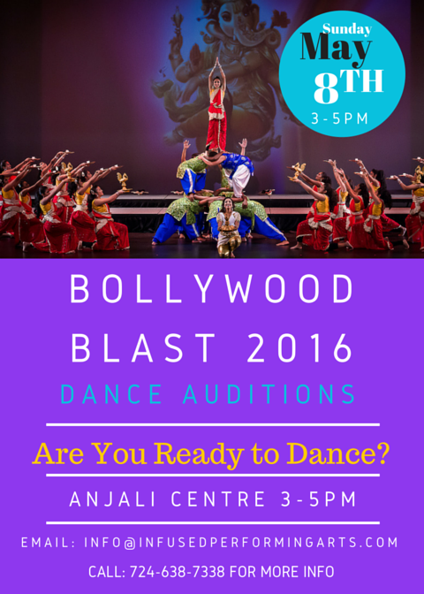 Auditions for Bollywood Blast 2016