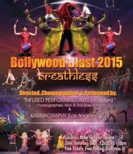 Bollywood Blast @ Miller Outdoor Theatre