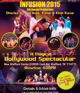 "INFUSION ""A Magical Bollywood Spectacular"""