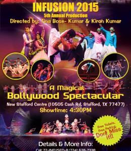 "INFUSION ""A Magical Bollywood Spectacular"""